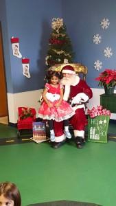 Santa Arrives at Paradigm