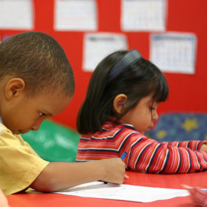 Three year old preschoolers in Commerce Township