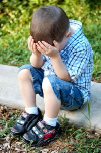 preschool age kids throwing tantrums